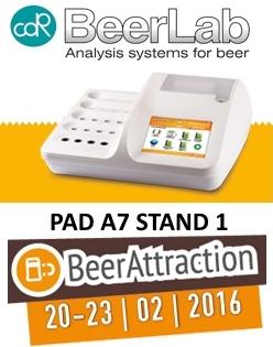 CDRBeerLab sistema di analisi della birra a Beer Attraction 2016