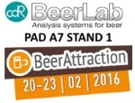 CDRBeerLab sistema di analisi della birra a Beer Attraction 2016